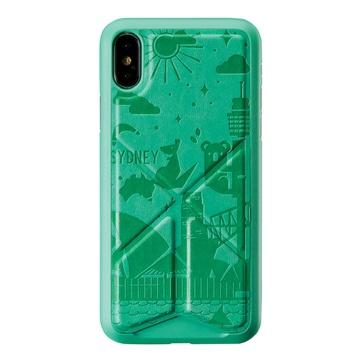 Cover per iphone x e xs sydney verde
