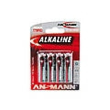 Ansmann 1x4 Alcalino Mignon Red-line