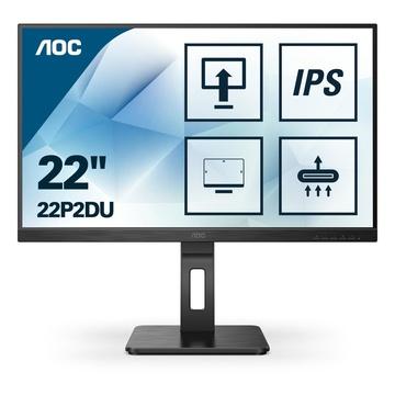 """AOC 22P2DU LED 21.5"""" Full HD Nero"""