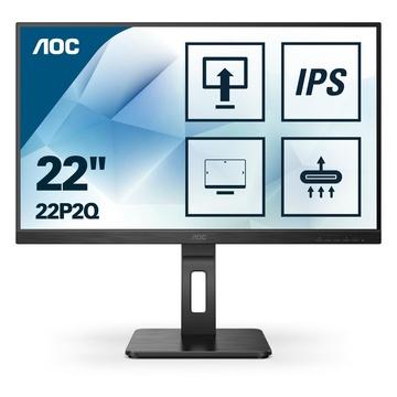 """AOC 22P2Q LED 21.5"""" 1920 x 1080 Pixel Full HD Nero"""