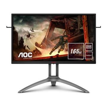 """AOC AG273QX 27"""" QHD 165Hz LCD Gaming Nero, Rosso"""