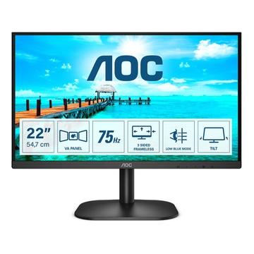 """AOC Basic-line 22B2DA LED 21.5"""" Full HD Nero"""