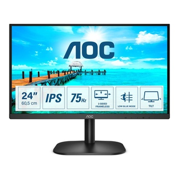 "AOC Basic-line 24B2XDA LED 23.8"" Full HD Nero"