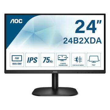 """AOC Basic-line 24B2XDAM LED 23.8"""" Full HD Nero"""