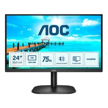 "AOC Basic-line 24B2XH 23.8"" Full HD 75Hz LCD Nero"