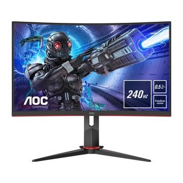 "AOC C27G2ZE/BK 27"" Full HD LED Nero, Rosso"