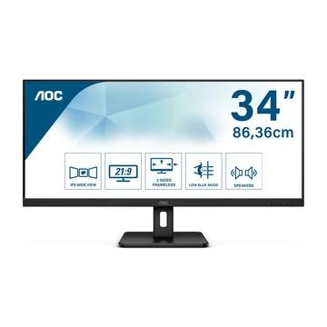 "AOC Essential-line Q34E2A LED 34"" Full HD+ 4ms 75Hz Nero"