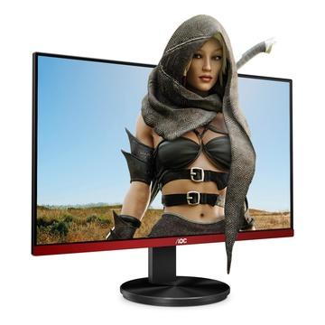 "AOC G2490VXA LED 23.8"" Full HD Gaming Nero, Rosso"