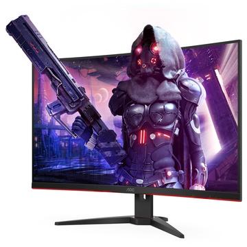 AOC Gaming CQ32G2SE/BK LED 31.5