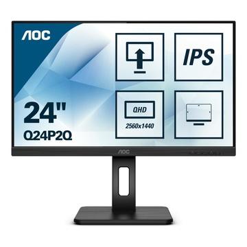 """AOC Q24P2Q LED 23.8"""" 2K Quad HD 4ms Nero"""