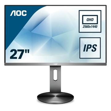 "AOC Q2790PQE 27"" Quad HD LED Grigio"