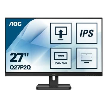 "AOC LED 27"" 2K Quad HD IPS 4ms 75Hz Nero"