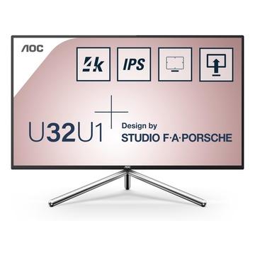 "AOC Style-line U32U1 31.5"" 4K LED Nero"
