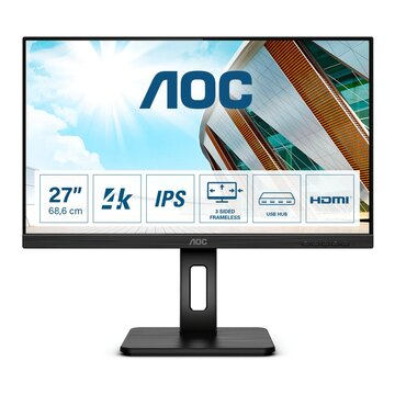 "AOC U27P2CA 27"" 4K Ultra HD LED Nero"