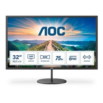 "AOC V4 Q32V4 31.5"" 2K Ultra HD LED Nero"