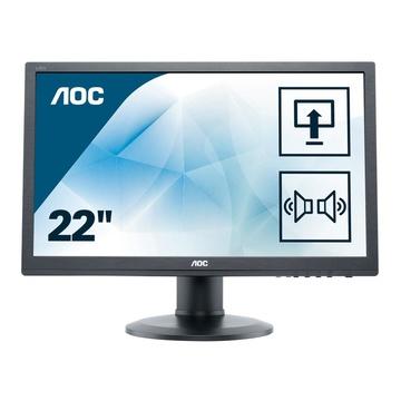 """AOC Value-line E2260PDA LED 22"""" WSXGA+ Nero"""
