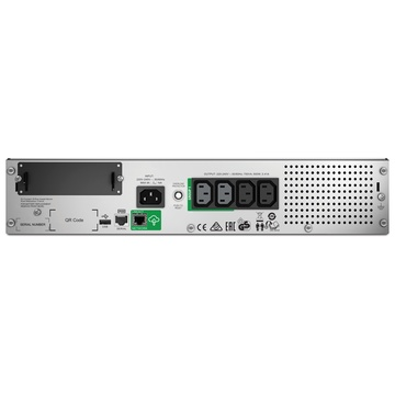 APC by Schneider Electric SMT750RMI2UC 750VA Uninterruptible Power Supply - Black gruppo di continuità (UPS) A linea interattiva 500 W 4 presa(e) AC