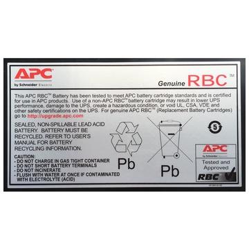 APC Replacement Battery Cartridge #55 Piombo