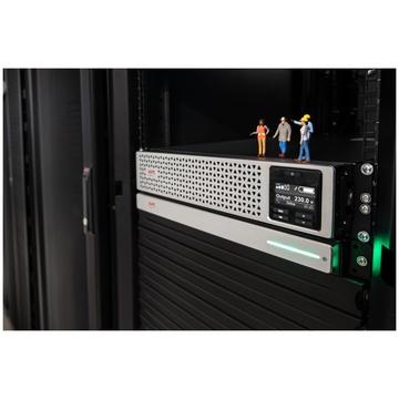 APC SRTL1000RMXLI-NC UPS Doppia conversione 1000 VA 900 W 8 prese AC
