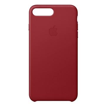 Custodia per iphone 7/8 plus sottile pelle rosso