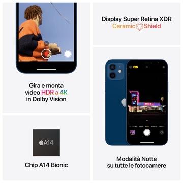 Apple iPhone 12 64GB Doppia SIM Bianco