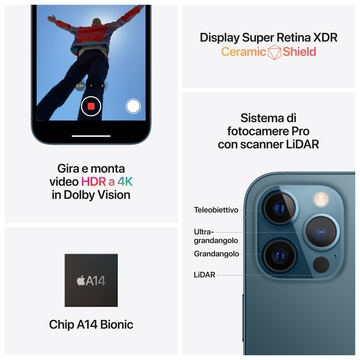 iPhone 12 Pro Max 256GB Doppia SIM Oro