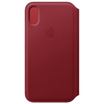 """Apple MRWX2ZM/A custodia per cellulare 14,7 cm (5.8"""") Custodia a libro Rosso"""