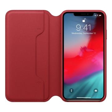 Apple Custodia in pelle Rosso MRX32ZM/A per iPhone XS Max
