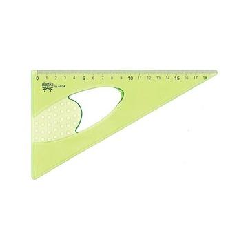 Arda Elastika Triangolo Plastica Verde 35 cm 1 pezzo(i)