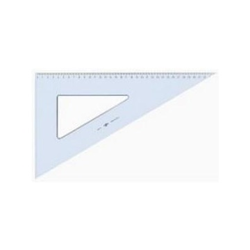 Arda Squadra 60° 35 cm Linea Uni Polistirolo Trasparente