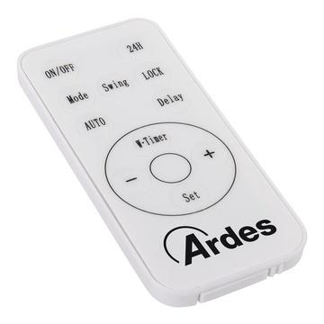 ARDES AR4W07P Riscaldatore ambiente elettrico con ventilatore Interno Grigio 2000 W