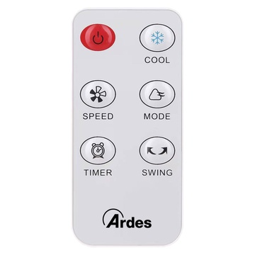 ARDES AR5R06D condizionatore portatile 4 L 60 W Bianco