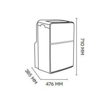 Argo condizionatore portatile ORION PLUS 13000btu Inverter classe A+ 64 dB