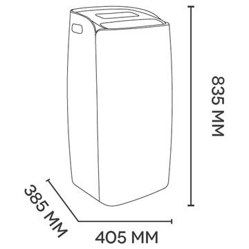 Argo Milo Plus 10000BTU Classe A Inverter 65dB