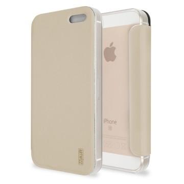 Cover flip oro per iphone se
