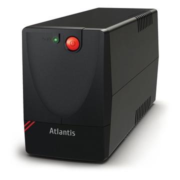 ATLANTIS Land OnePower X1000 750 VA 375 W 2 presa(e) AC
