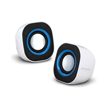 ATLANTIS Land SoundPower 410 5 W Nero, Blu, Bianco