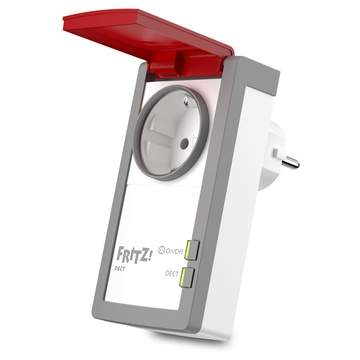 AVM FRITZ DECT 210 INTERNATIONAL presa intelligente Rosso, Bianco 1,5 W