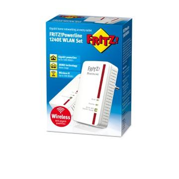 AVM FRITZ!1240E WLAN 1200Mbit/s Collegamento ethernet LAN Wi-Fi
