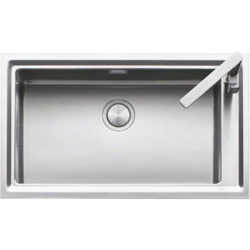 1LES91R Lavandino da cucina Flush Rettangolare Acciaio inossidabile lavello