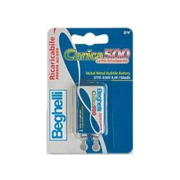 BEGHELLI 8853 Batteria ricaricabile Nichel-Metallo Idruro 8,4 V
