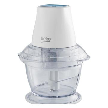 Beko CHP5550W Tritaverdure elettrico 0,75 L 550 W Blu, Trasparente, Bianco