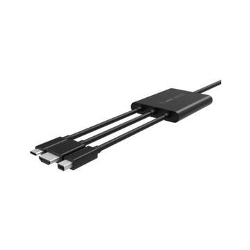Belkin B2B169 cavo di interfaccia e adattatore HDMI + USB Mini DisplayPort Nero