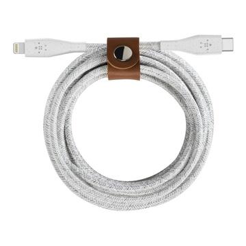 Belkin cavo da Lightning a USB-C DURATEK PLUS Bianco