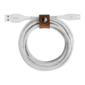 Belkin DuraTek Plus cavo USB 1,2 m 2.0 USB A USB C Bianco