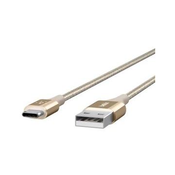 Belkin F2CU 1.2m USB A USB C Maschio-Maschio Oro Cavo USB