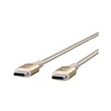 Belkin F2CU 1.2m USB C USB C Maschio-Maschio Oro Cavo USB