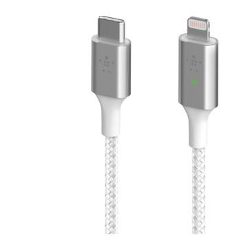 Belkin Smart LED USB-C to Lightning Bianco