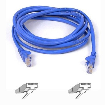 Belkin UTP CAT5e 5 m cavo di rete U/UTP (UTP) Blu
