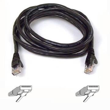 Belkin UTP CAT6 3m cavo di rete U/UTP (UTP) Nero